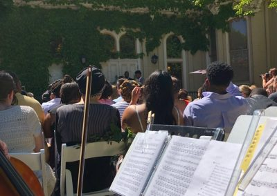 Villa Filomena Wedding Ceremony