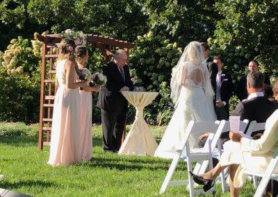 Boerner Botanical Gardens Wedding Ceremony